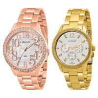 fa037a15f97 Relógio Lince LRRJ019L B2RX Feminino Analógico + Relógio Lince ...