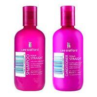 Kit Shampoo + Condicionador Lee Stafford Pocker Straight Travel