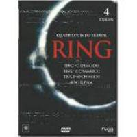 Ring - Quadrilogia Do Terror - (Box Digipack 4 Dvds)