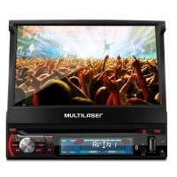 DVD Player Automotivo Multilaser Extreme+ GP044 7 TV Digital Preto
