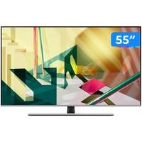 """Smart TV 4K QLED 55"""" Samsung QN55Q70TAGXZD Wi-Fi Bluetooth"""