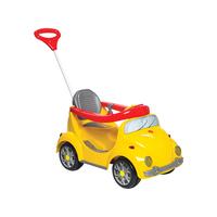 Carrinho de Passeio Calesita Infantil a Pedal Fouks - com Empurrador Emite Sons Farol