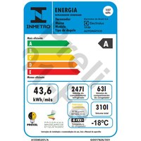 Refrigerador Electrolux TF39 Frost Free 310 Litros 2 Portas Branco 220V