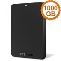 HD Toshiba Externo Portátil 1TB Preto