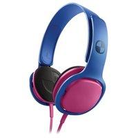 Fone de Ouvido Philips com Alça Sho3300 Azul e Rosa