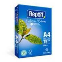 Papel Sulfite Report A4 75g Colorido Com 500 Folhas