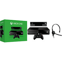 Xbox One 500GB Microsoft + Kinect + Headset com Fio