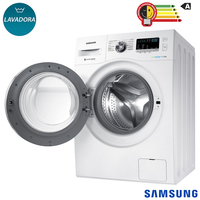 Lavadora de Roupas 11Kg Samsung EcoBubble WW11J44530W Branca