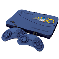 Master System Tectoy Evolution MS 132 Blue com 132 Jogos