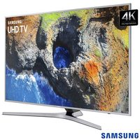 Smart TV LED 4K Samsung 55 Smart Tizen Wi-Fi UN55MU6400GXZD