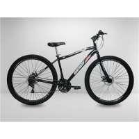 Bicicleta Preta Aro 29 Wendy 21V Disco Câmbios Shimano