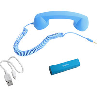 Carregador Portátil Azul + Pop Phone Smarts Azul