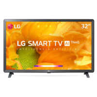 Smart TV Led 32`` LG 32LM621 HD Thinq AI Conversor Digital Integrado 3 HDMI 2 USB Wi-Fi