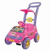 Carrinho de Passeio Roller Baby Versátil Mônica 1028 Magic Toys Rosa
