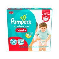 Fraldas Pampers Pants Confort Sec Tamanho XXG 26 Unidades