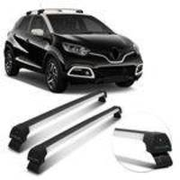 Rack De Teto Travessa Captur 17 18 19 Long Life Sport Prata