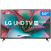 "Smart TV 4K LED 50"" LG 50UN7310PSC Wi-Fi"