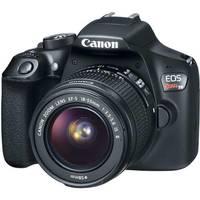 Câmera Digital Canon EOS Rebel T6 18MP + Lente 18-55mm + Cartão 32GB + Bolsa + Tripe Filtro Uv + Kit Limpeza