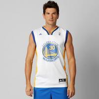 6480f2cf0a Camiseta Regata Adidas Golden State Warriors Home Curry 30 Masculina Branca