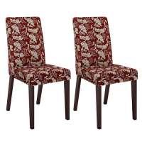 Conjunto 2 Cadeiras 4128 Madesa Tabaco vermelho