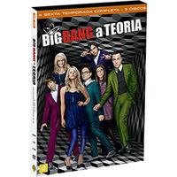 Big Bang a Teoria 6ª Temporada 3 DVDs - Multi-Região / Reg.4