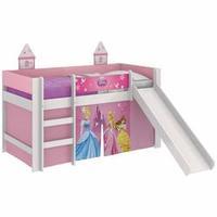 Cama Princesas Disney Play Escorregador Pura Magia