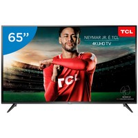 Smart TV LED 65 Semp 4K Ultra HD 65P65US Conversor Digital