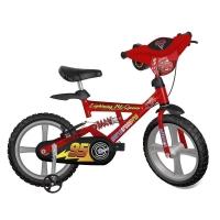 Bicicleta Bandeirante Aro 14 Carros 2 Vermelha