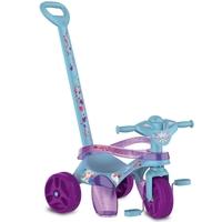 Triciclo de Passeio e Pedal Bandeirante Mototico Disney Frozen 2 Azul e Roxo