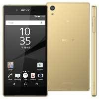 Smartphone Sony Xperia Z5 Desbloqueado GSM Dual Chip 32GB Android 5.1 Ouro