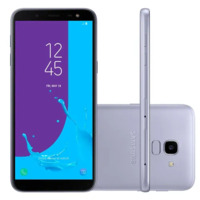 Smartphone Samsung Galaxy J6 SM-J600GT/3DL Desbloqueado GSM 64GB TV Digital Dual Chip Android 8.0 Prata
