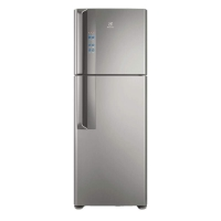 Refrigerador Electrolux Top Freezer DF56S 474 Litros Platinum
