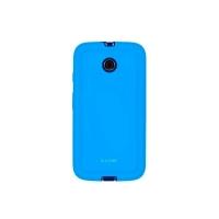 Capa para Motorola Moto E Icover Mycover Colors com Película Protetora Azul