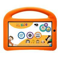 Tablet DL Play Kids 7'' 8GB Wi fi Branco + Capa Protetora Laranja
