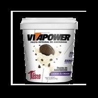 Pasta de Amendoim Integral (1.005kg) VitaPower-Cookies & Cream