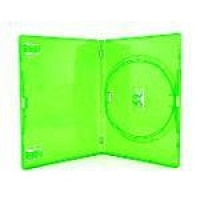 Box Dvd Amaray Red Tag Verde - 5 Unidades