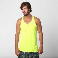 e29596856aea7 Camiseta Regata Asics Favorite Singlet Masculina Verde Limão