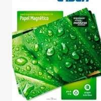 Papel Magnético Multilaser A4 660g m2 10 Folhas Pe027