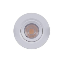 Luminária Downlight Orientável Redonda MR11-3W - 2700K - Brilia