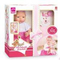 Boneca Meu Bebezinho Real- 5680-Roma Brinquedos
