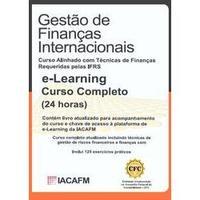 Gestão de Finanças Internacionais  Livro + E-learning