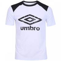 Camiseta Umbro Core UX Basic Masculina Branco e Preto  f6bc3211ff5cb