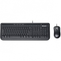Bundle Teclado Microsoft + Mouse Microsoft Wired Desktop 600