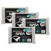 Travesseiro Fibrasca Visco Nasa 48x68x12 Bege