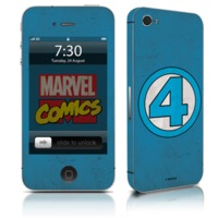 Adesivo Celular Quarteto Fantástico Logo Marvel IPhone 4 Studio Geek