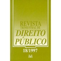 Revista Trimestral de Direito Público 18/1997