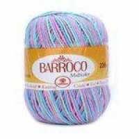 Barbante Barroco Multicolor 200g Círculo-9184