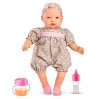 Boneca Bebê Claire Com Acessórios Roma Jensen