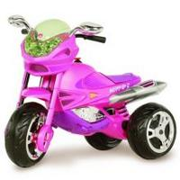 Super Moto Elétrica GP2 (GT2) Girl 6V Bandeirante Rosa