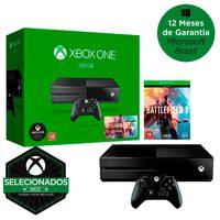 Xbox One 500GB Microsoft + Controle Sem Fio + Battlefield 1